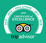 TripAdvisor Gentle Giants Certificate of Excellence 2019